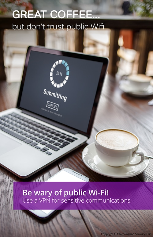 Security Awareness Poster | 101 wifi security poster