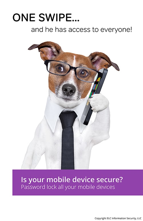 Security Awareness Poster | 106 byod security poster