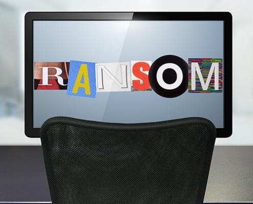 Security Awareness Poster - 120 Ransomware