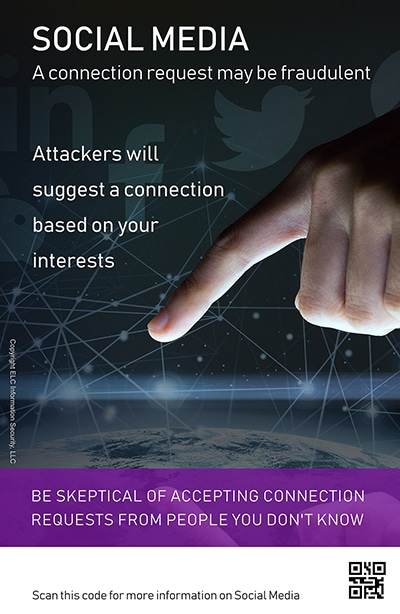 Security Awareness Poster Microtraining | 203 Social Media
