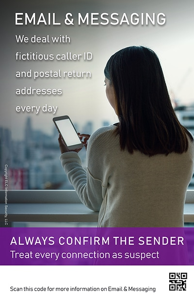 Security Awareness Poster Microtraining   205 Email and Messaging
