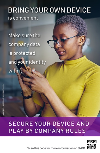 Security Awareness Poster Microtraining | 207 BYOD