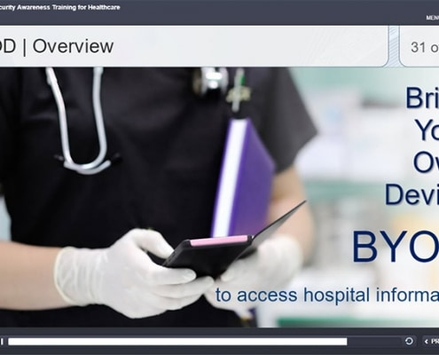 health security awareness BYOD