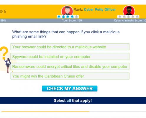 gamified phishing awareness training 6